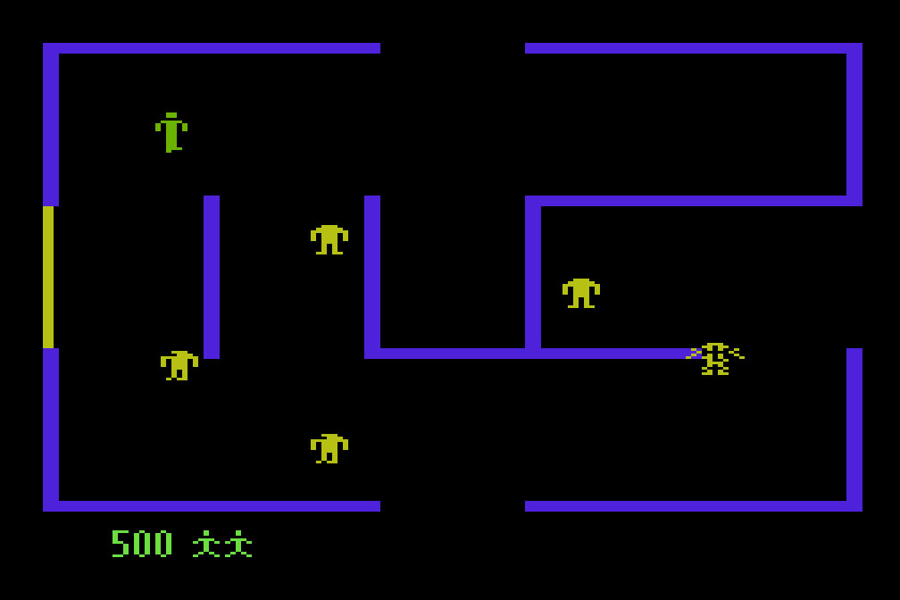 Retro Game Programming: Berzerk