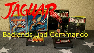 Badlands und Commando (Atari Jaguar)