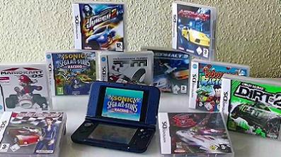 Rennspiele für das Nintendo DS