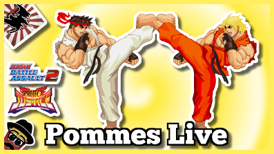Retro Beat em Ups ft. denNES danMAKU | 15.6.2018 Pommes and Friends