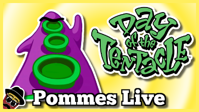 Day of the Tentacle Remastered (Full Playthrough) | Pommes Live 1.6.2018