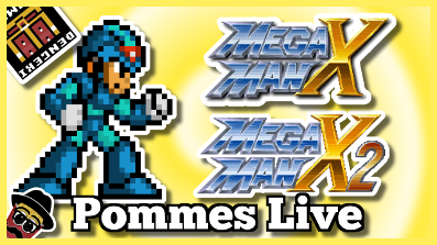 Mega Man X & X2 ft. Dengeki Gamer (100% Full Playthrough) | 9.6.2018 Pommes and Friends