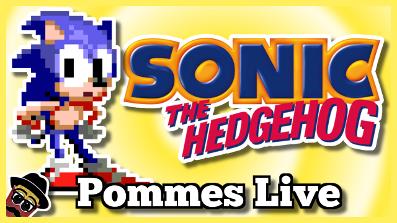 Sonic The Hedgehog – Sonic CD | Pommes Live 20.7.2018