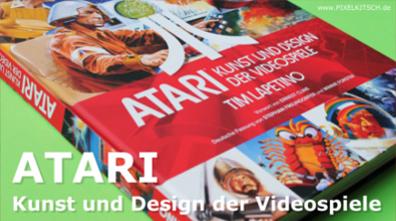 PIXELKITSCH #206: ATARI – Kunst und Design der Videospiele